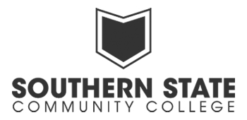 Southern State's Logo in Vertical Format