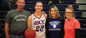 Barr scores 1,000th point for SSCC women's basketball