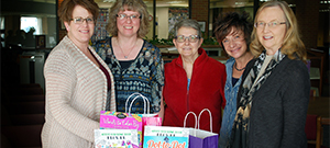 SSCC Relay for Life team accepting Kare Kits donations