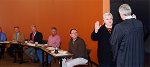 Lynn Stevens sworn in as Southern State trustee