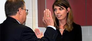 Kristy Wilkin sworn in as Southern State trustee