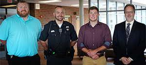 PD scholarship awarded to SSCC student Ethan Conn