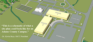Adams County Campus Project Put on Hold
