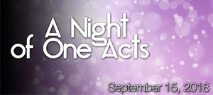 SSCC Theatre Co presents 'A Night of One Acts'