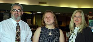 SSCC awards Elks Scholarship to Madison Edwards
