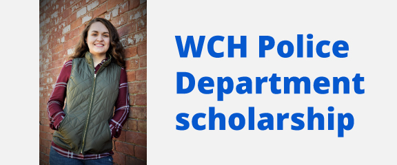 SSCC awards WCH Police Department scholarship to Maizy Funderburg