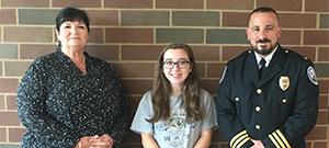 SSCC awards WCH scholarship to Makayla Lingerfelt