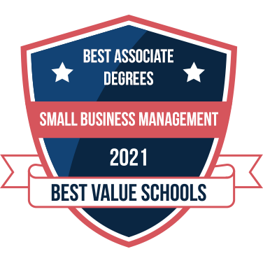 Best Value Schools 2021, Small Business Managment
