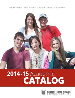 2014-2015 Catalog Cover
