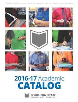 2016-2017 Catalog Cover