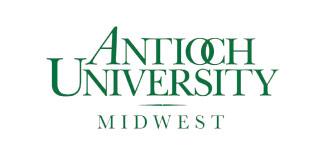 Logo for Antioch University.