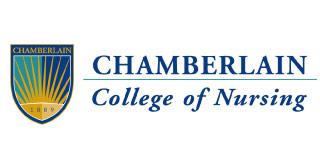 Logo for Chamberlain College of Nursing.