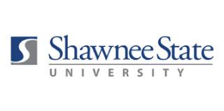 Logo for Shawnee State University.