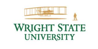 Logo for Wright State University.