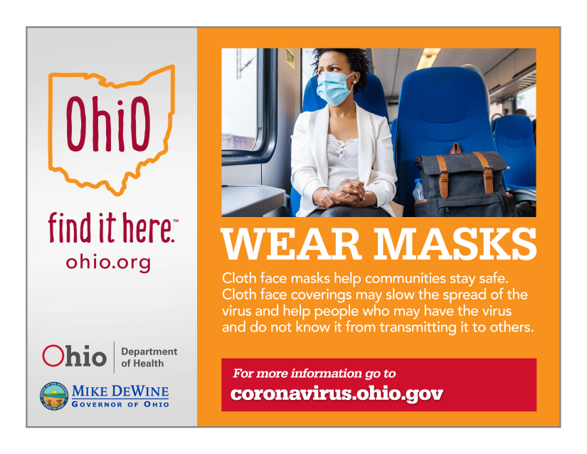 Wear Masks. Cloth masks help communities stay safe. Cloth face covering may slow the spread of the virus and help people who may have the virus and do not know it from transmitting it to others.