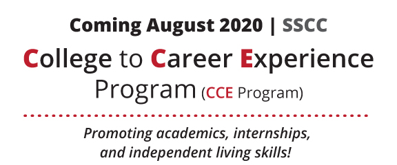 Coming August 2020, The College to Career Experience Program.