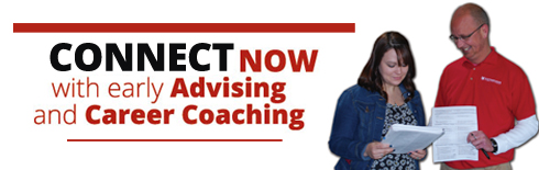 CONNECT Now with early Advising and Career Coaching