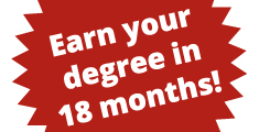 AA/AS Accelerated Degrees, earn your degree in 18 months