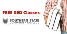 Banner for free GED classes