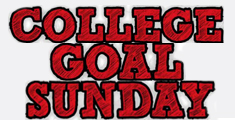 Banner for College Goal Sunday