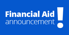 Financial Aid Announcement!