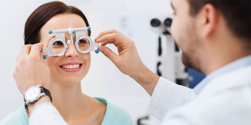 Banner for the Optician Certification Training Course