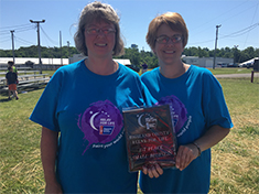 Angie Moots and Michelle Meddock - Southern State Cancer Crusaders Co-Captains