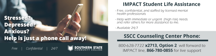Impact Student Life Assistance. Call 866-780-0855 for live support.