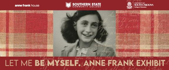 Anne Frank Exhibit, October 25 to November 12