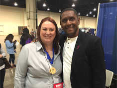 Brandy Yates at the Nerd Nation National Conference