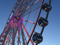 The Capital Wheel at the National Harbor