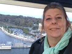 Cindy Gullet on The Capital Wheel