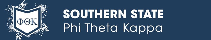 Southern State Phi Theta Kappa banner with logo